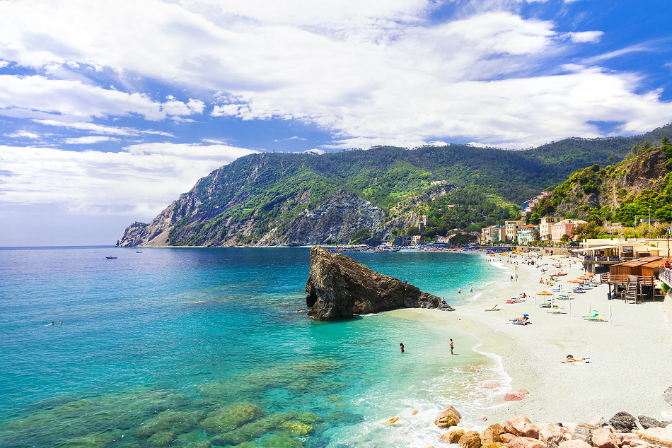 Monterosso al Mare - Levanto Riviera comes as a good base for exploring Cinque Terre which is close by.