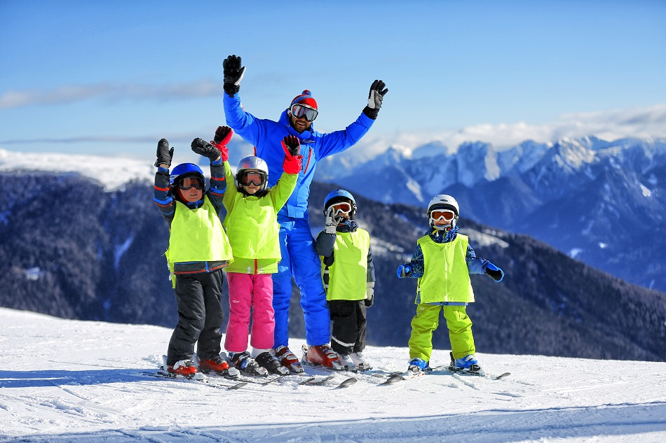 Having child-friendly ski instructors is mostly what makes some ski resorts greater for kids than others.